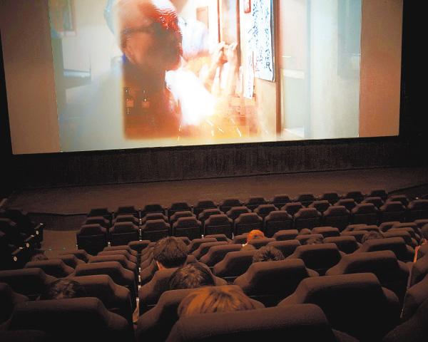 映画館のある町で