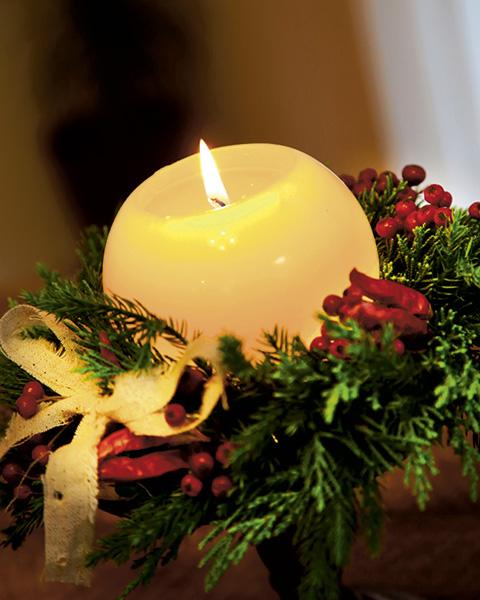 クリスマスには小さな明かりで。