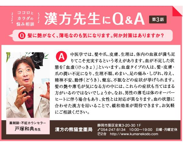 漢方先生にQ&A 第3話