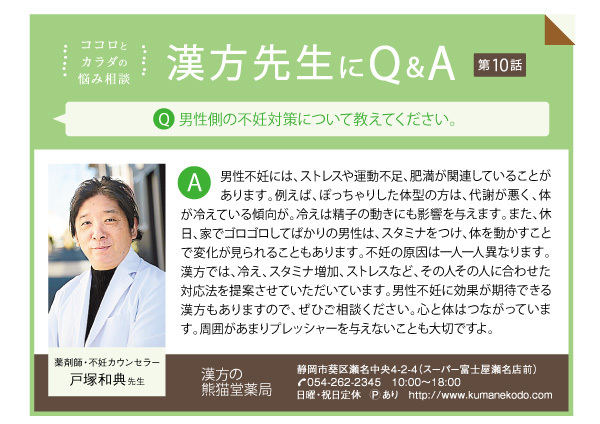 漢方先生にQ&A 第10話