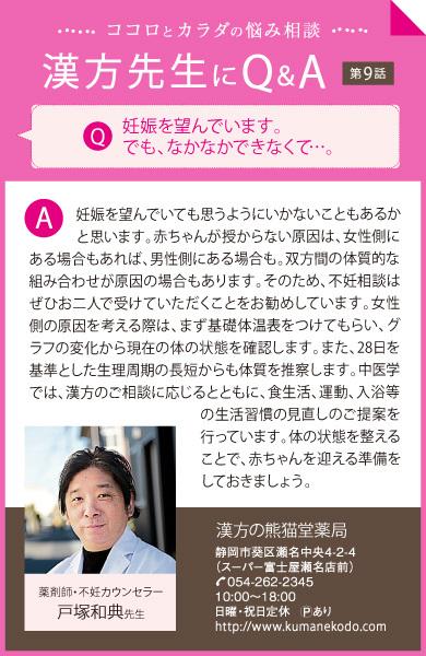 漢方先生にQ&A 第9話
