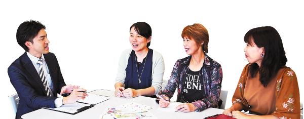 藤枝女子の座談会